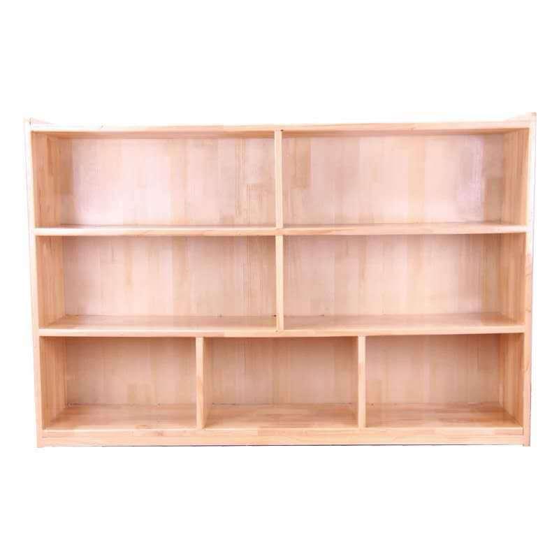 厂家直销幼儿园实木柜子幼儿园储物柜儿童实木收纳柜幼儿园玩具柜