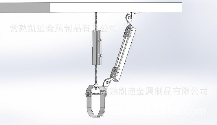 抗震支架支撑组合方式