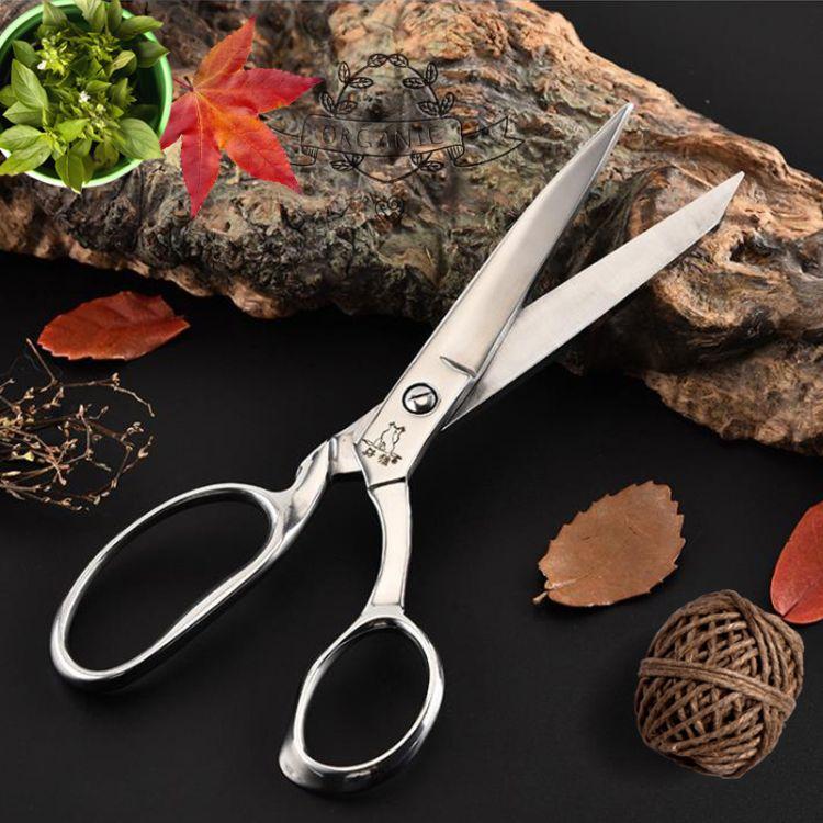 厂家直销 8寸服装裁缝剪 阳江剪刀 家用剪刀 剪彩剪 不锈钢剪刀