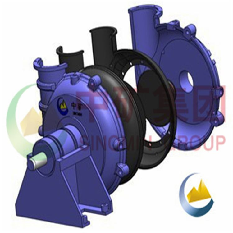 多型号砂砾泵厂家 过流件 脱硫管道 渣浆泵修复施工