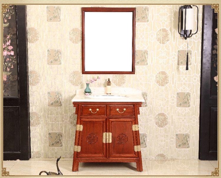 实木浴室柜工厂浴室柜厂家浴室柜浴室柜定制精品雕花浴室柜工厂