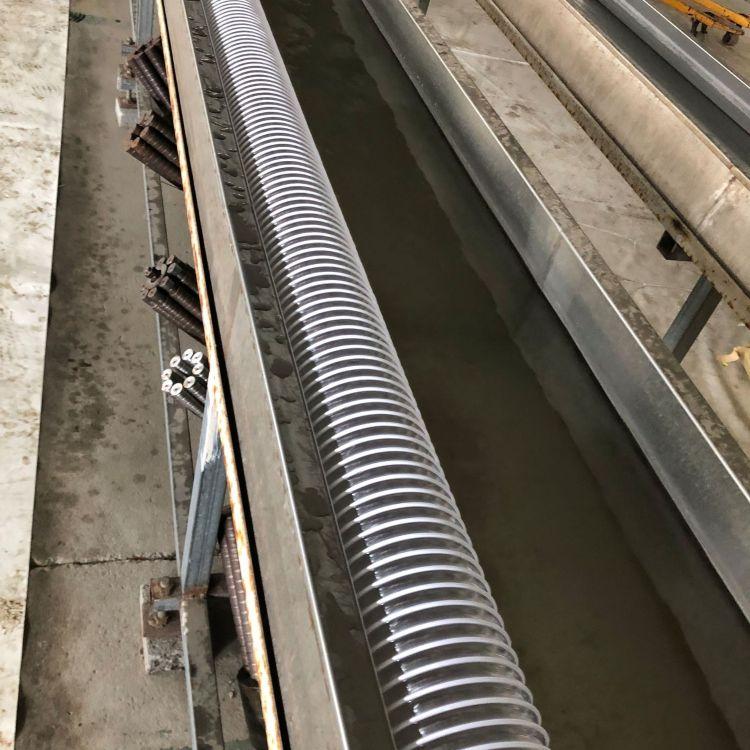厂家直销PVC钢丝软管通风管透明软管可定制