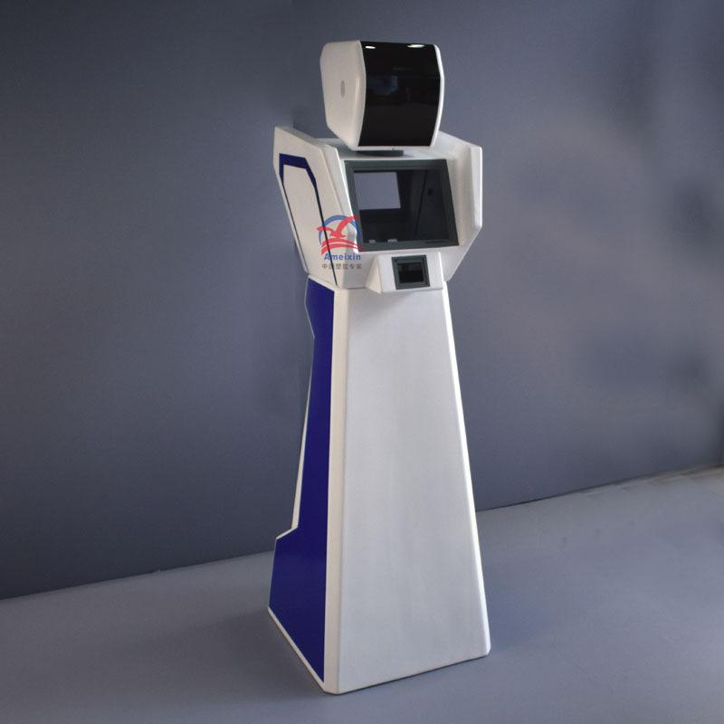 送餐机器人外壳 塑胶成型机器人外壳雕塑 机器人外壳定制厂家