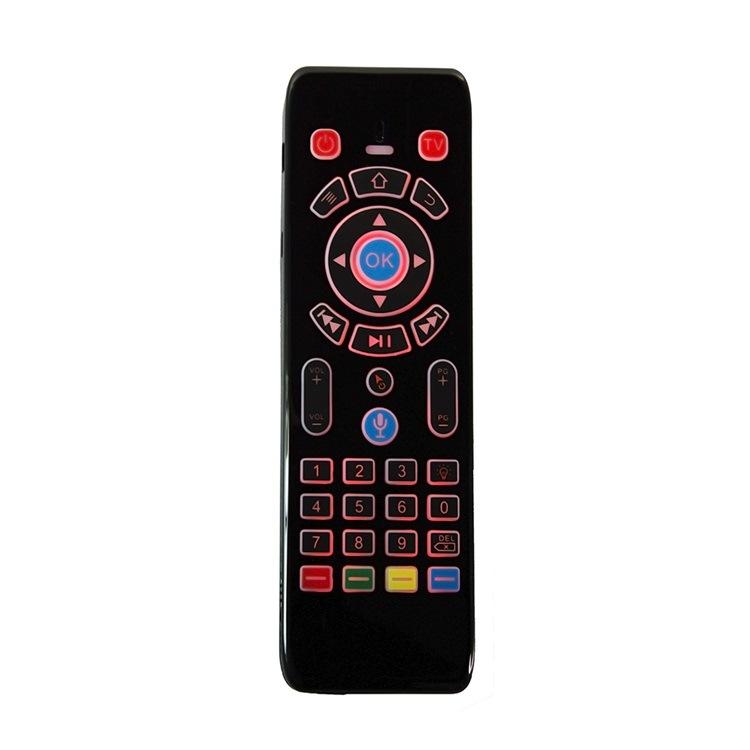 T16-M 2.4GHz无线语音鼠标 迷你无线QWERTY键盘和触摸屏组合