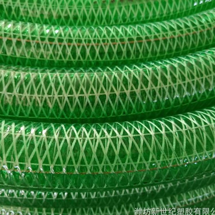 PVC 抗压耐酸碱抗腐蚀钢丝纤维防静电复合管 透明钢丝螺旋软管