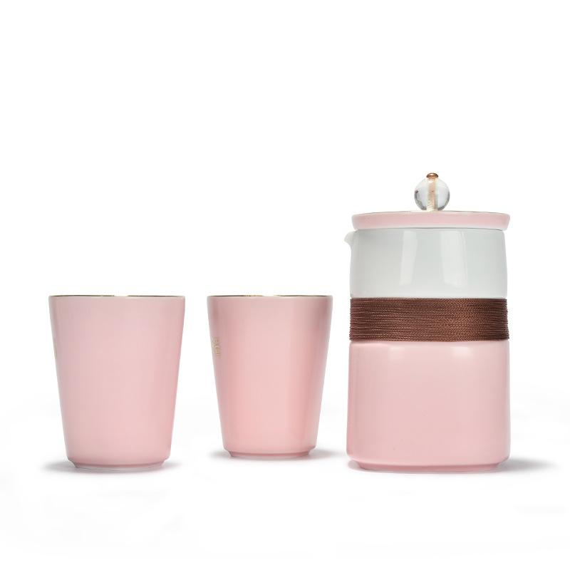 厂家批发 2017新品陶瓷马克杯礼品套装 陶瓷茶杯四件套 可定制LOG
