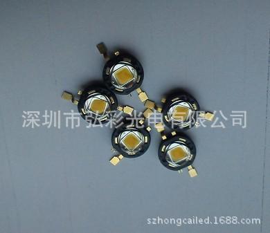供应LED大功率灯珠1W大功率白光3W大功率白光LED大功率灯珠