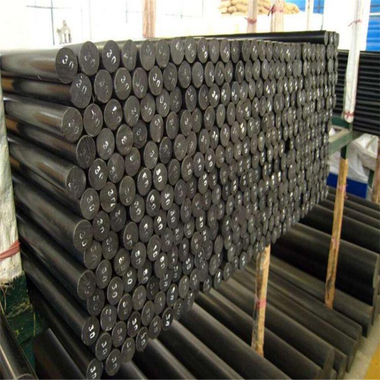 黑色mc尼龙棒 pa66尼龙棒定做  玻纤尼龙棒材生产加工 质量保证