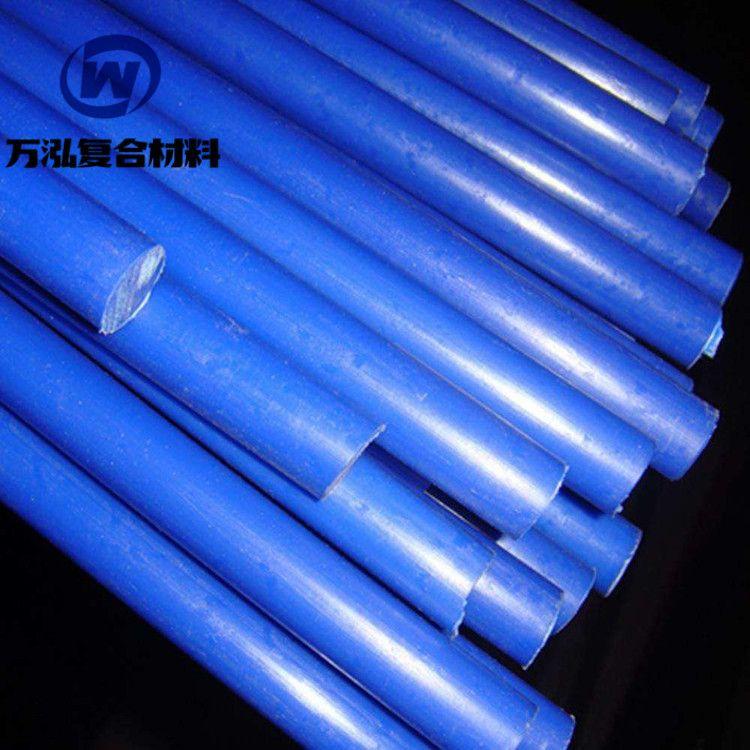 供应蓝色尼龙棒 高韧性超耐磨浇铸尼龙棒 机加工用MC蓝色尼龙棒