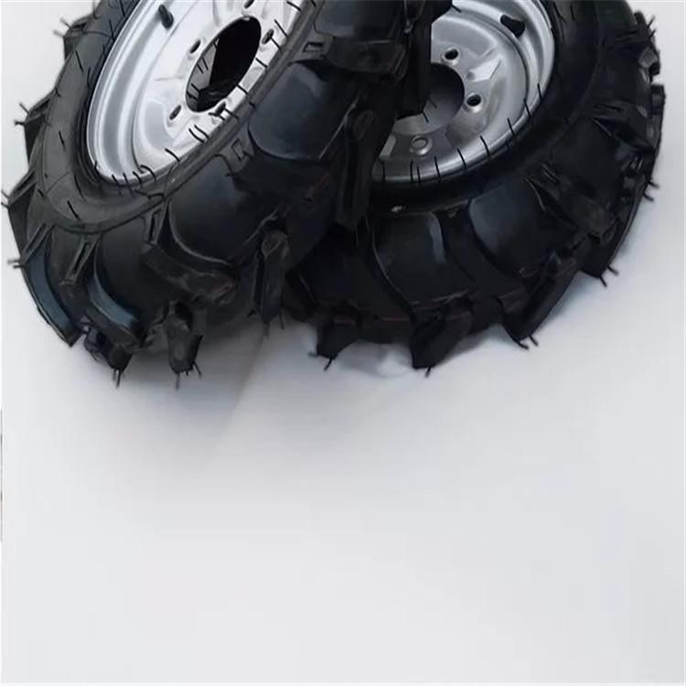 亿通达6.50-14人字轮胎微耕机 轮胎