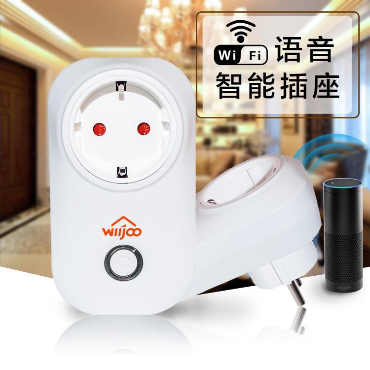 智能家居智能插座wifi插座wifi智能插座美规插座对接alexa