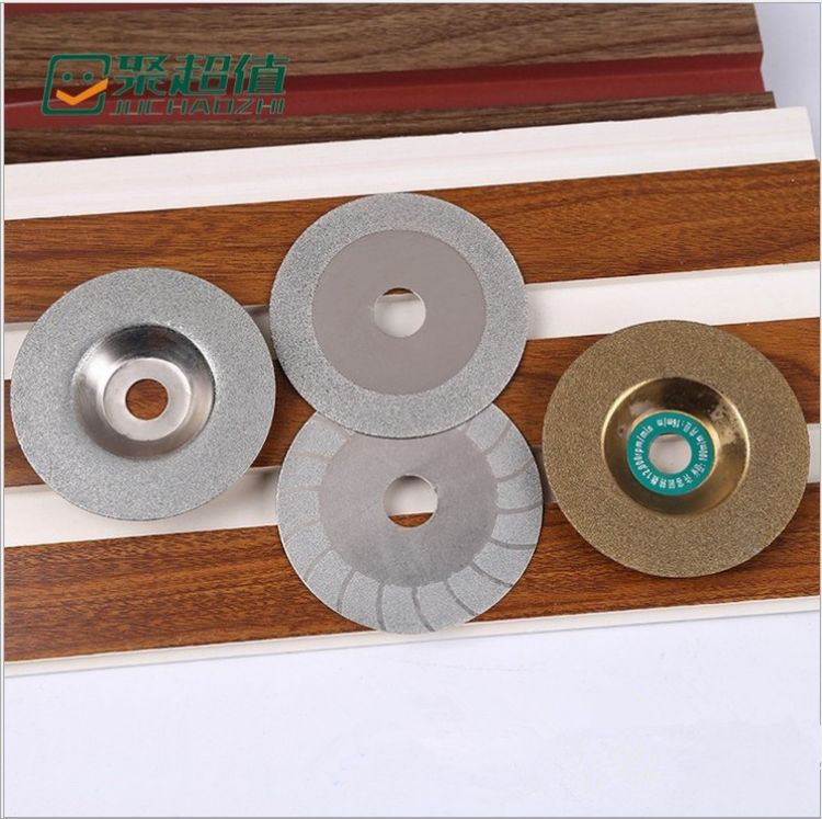 玻璃切片玻璃磨片电镀磨片切割片 玻璃石材大理石切割金刚石切片