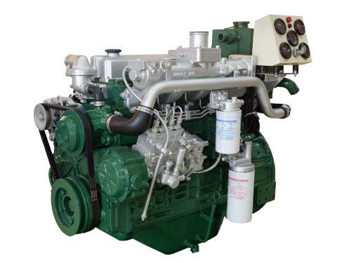 广西玉柴动力船用主机发动机总成YCD4J22C-65
