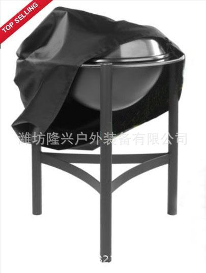 (跨境电商)(圆形)户外烤炉罩bbq烤炉罩烧烤炉防水罩――工厂直营