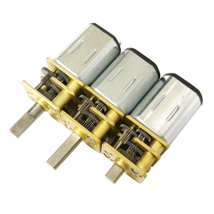 生产微型减直流减速电机n20减速马达 智能家居电器用齿轮减速箱