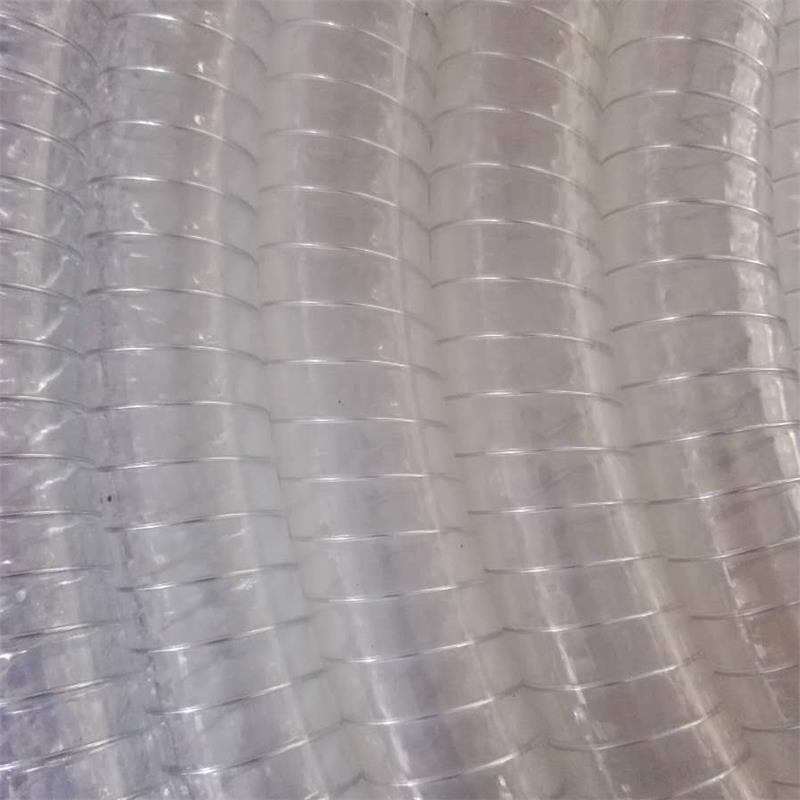 厂家直销钢丝管增强管PVC塑料无色透明软管规格8分内径19mm