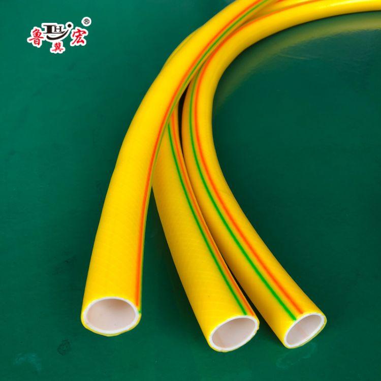 PVC纤维软管透明 出口专用 PVC软管 蓝色透明蛇皮管 增强软管