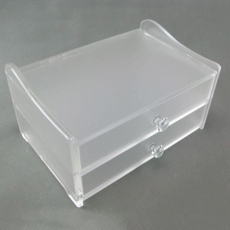 随意定制亚克力磨砂收纳制品盒 定做各种有机玻璃亚克力制品盒子