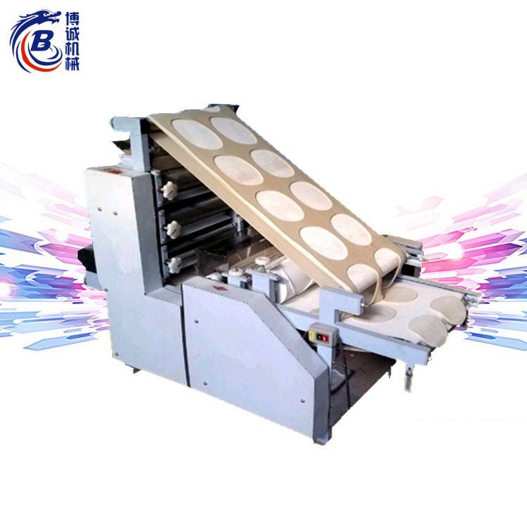 供应新款商用仿手工包子皮机全自动饺子皮机 小型全自动混沌皮机