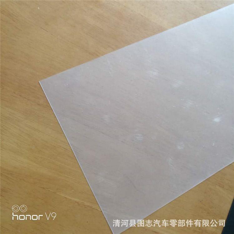 厂家直供pvc水晶板透明软板透明耐酸碱耐腐蚀水晶橡胶板批发