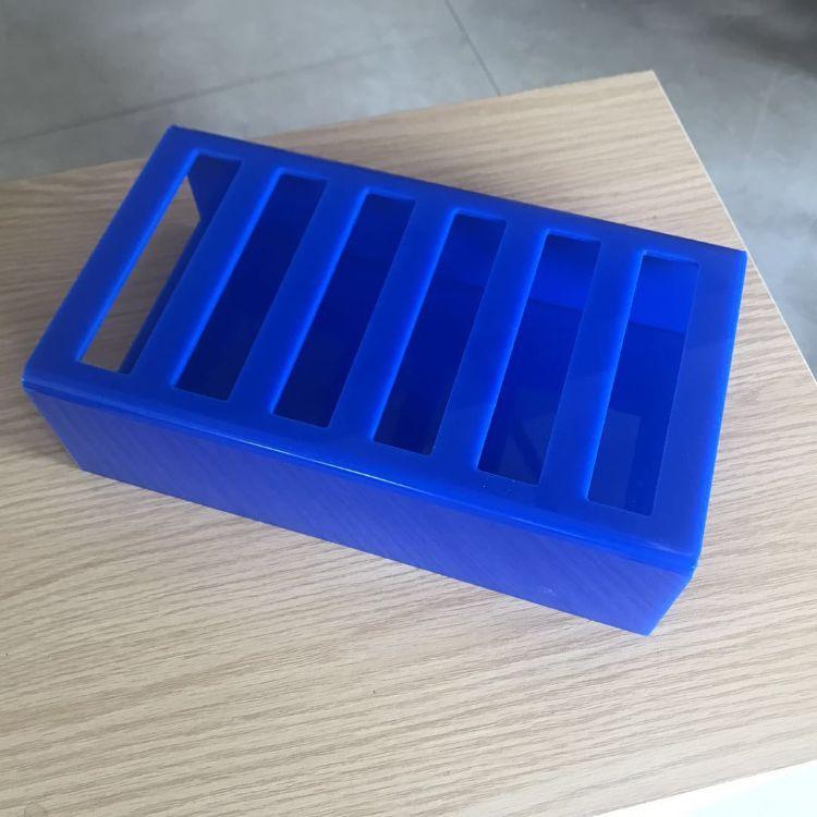 亚克力展示架 放大镜盒教具粉底盒化妆笔亚克力装饰架展示盒定制