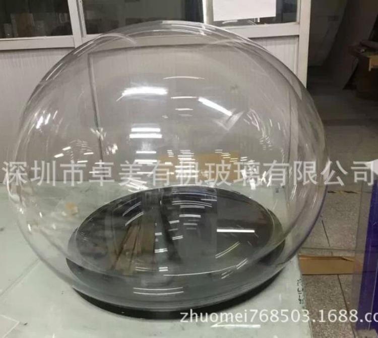 亚克力双重球 亚克力球 ,有机玻璃双重罩子 �嚎肆η� 亚克力罩子