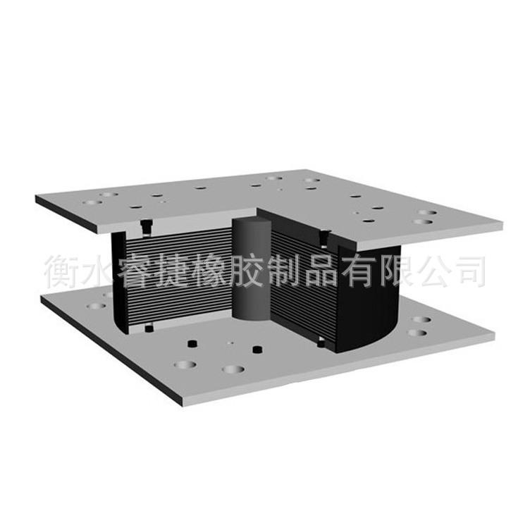 不锈钢减震双向活动支座 公路橡胶支座 桥梁盆式橡胶抗震支座