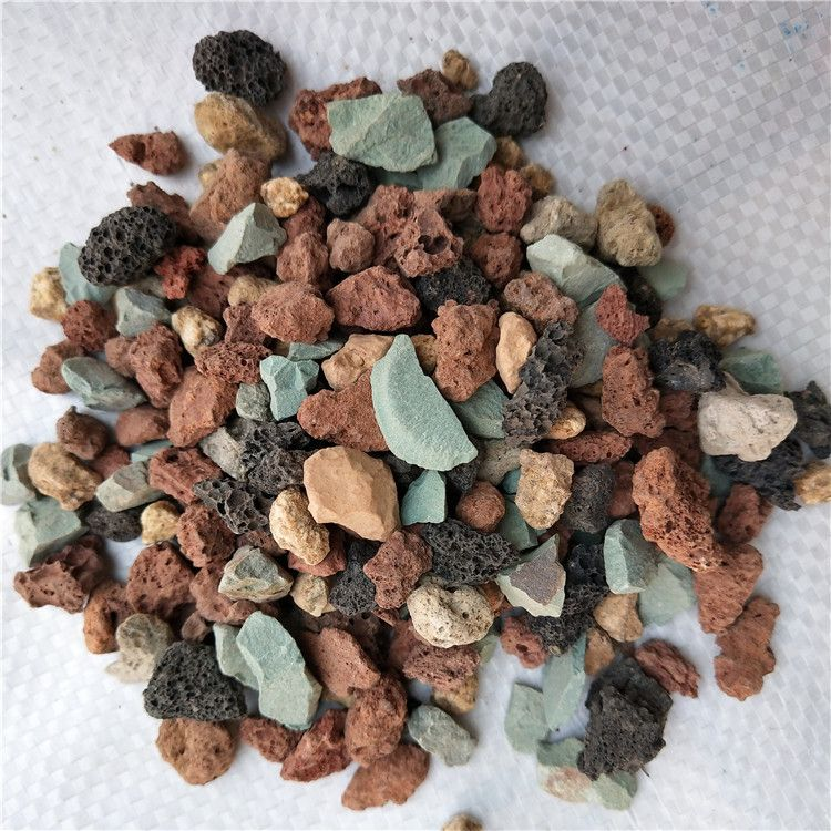 七合一彩虹石 多肉植物种植用彩虹石 栽培基质多肉营养土虹彩石