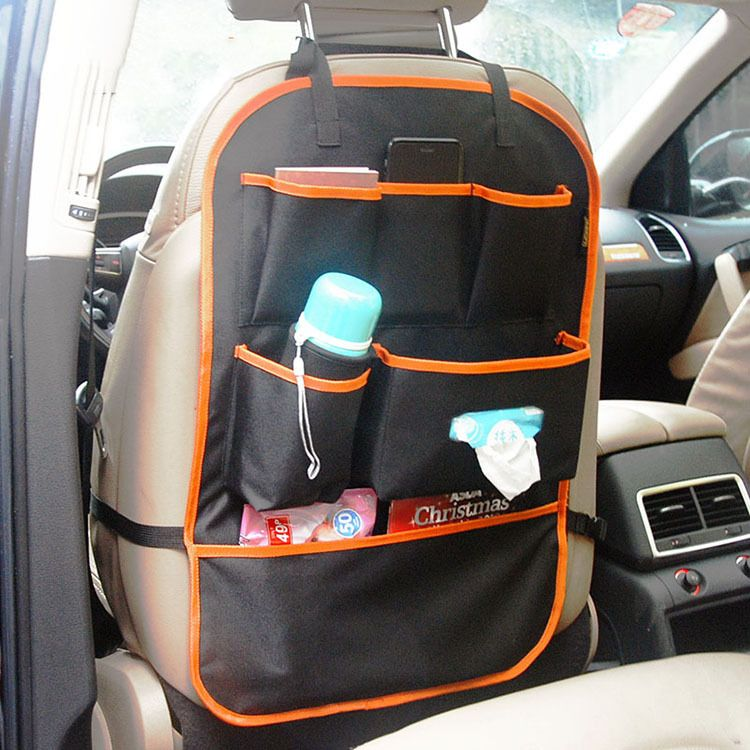 厂家直销汽车椅背车背带 汽车椅座后背收纳挂袋 杂物整理袋