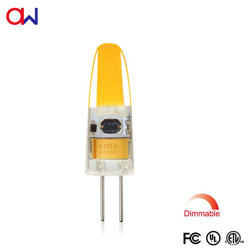 ETL G4 COB LED 透明水晶 硅胶灯