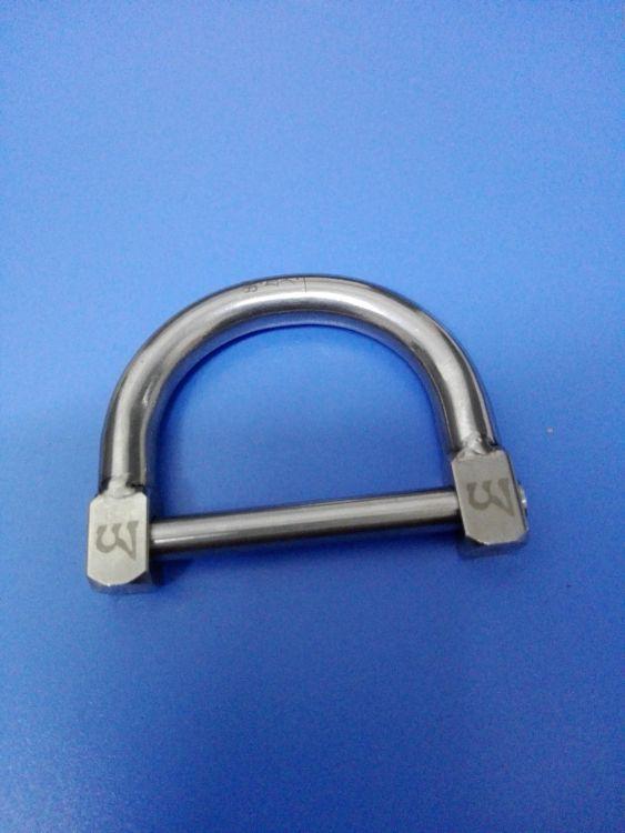 佛家放生锁  304不锈钢 放生环 无匙锁 一次性锁防盗锁 可订做