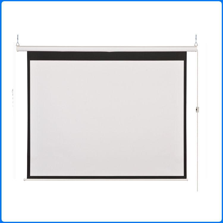 100寸玻纤电动幕布投影机幕布 办公会议家用投影仪幕布高清投影幕