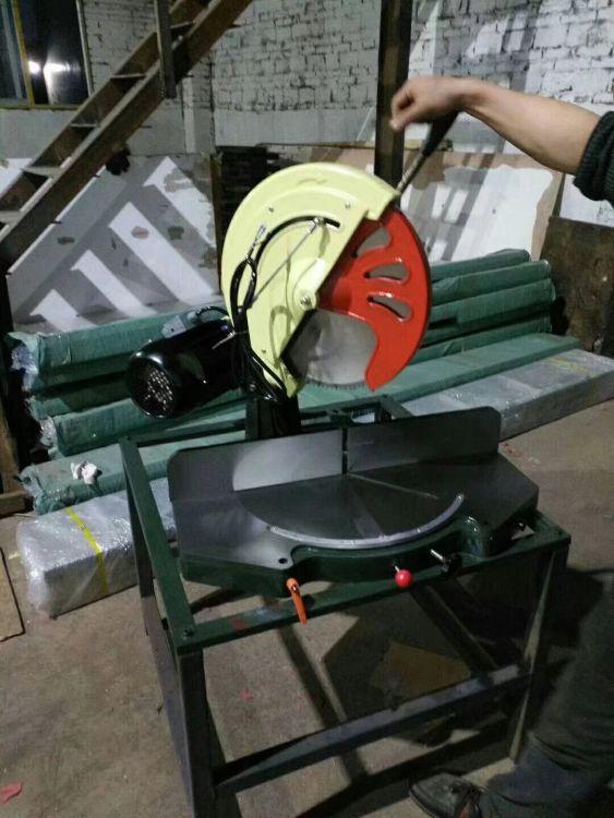 铝合金切割锯、铝型材手动转盘切割机.断桥铝门窗加工设备