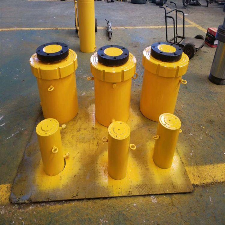 非标定制液压缸大型法兰油缸顶管机打包机升降设备桥梁液压油缸