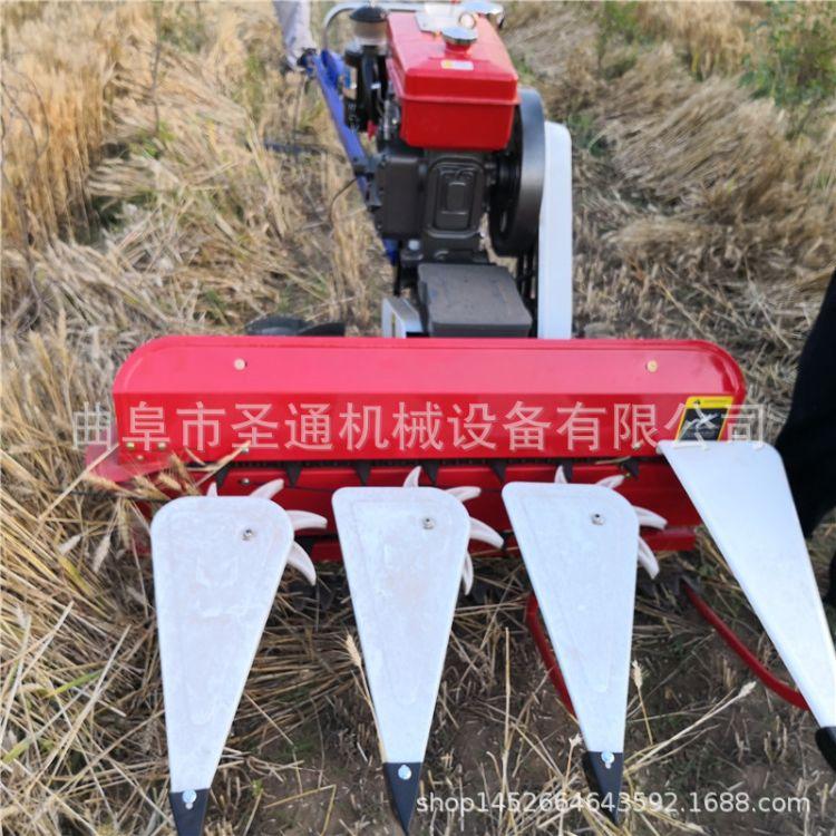 秸秆牧草收割机 手扶式艾草割晒机 柴油水冷荆芥割晒机