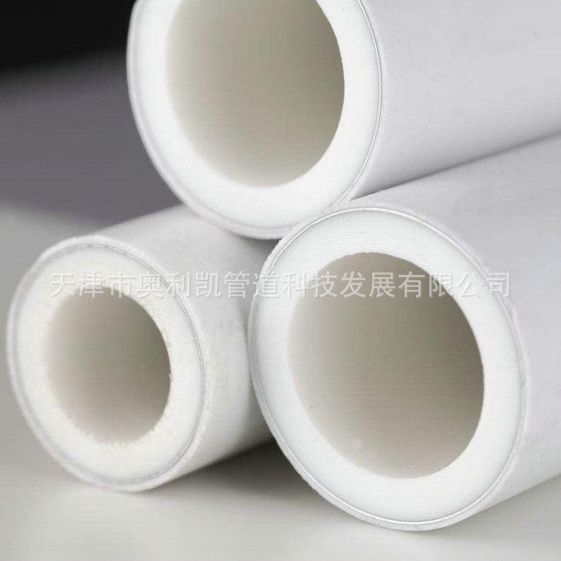 厂家批发家装工程PPR管材 加厚PPR热水管材 白色PPR管材