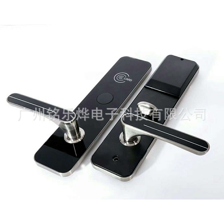 铭乐烨爆款酒店公寓宾馆门锁智能锁电子锁磁力锁IC卡锁刷卡感应锁
