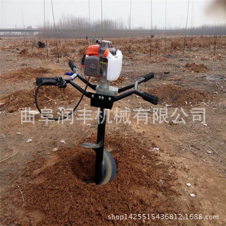 钻地钻孔挖坑机 大直径起苗挖坑机 新款种树挖坑机