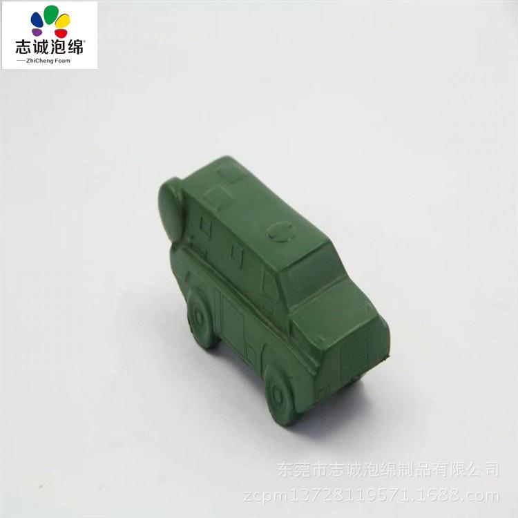 PU发泡交通玩具 儿童装甲车玩具 聚氨酯发泡pu玩具 汽车玩具