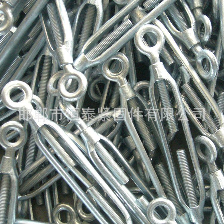大量批发花兰螺栓 国标开体花兰 钢丝绳收紧器花篮螺丝