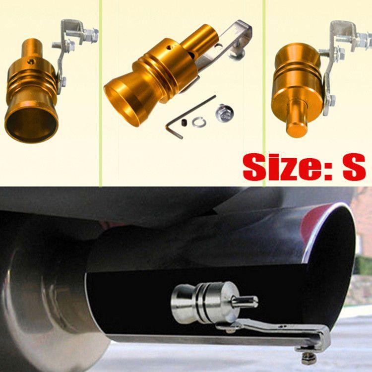 汽车改装涡轮哨子排气管发声器仿声器涡轮尾气仿声哨4个规格