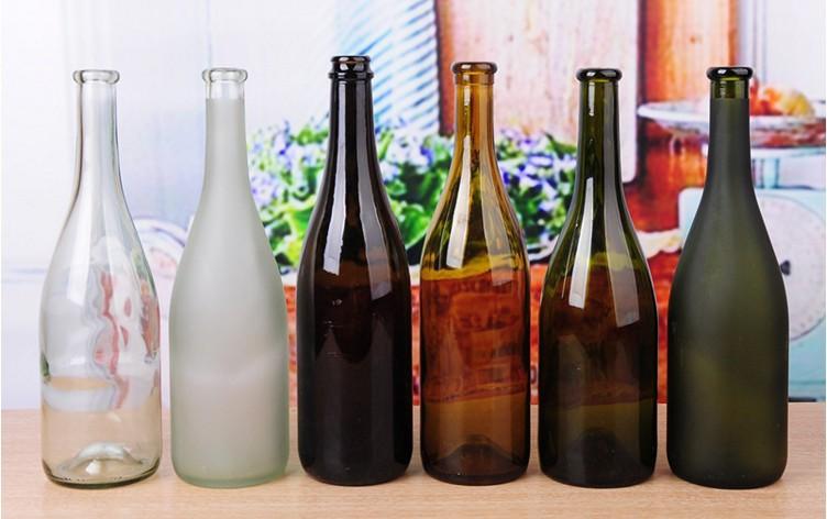 厂家直销750ML大肚红酒瓶 葡萄酒瓶 自酿酒瓶 空瓶子葡萄酒瓶