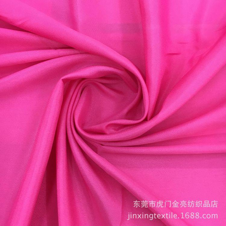 厂家现货直销 真丝双绉 真丝面料 闪光双皱时尚雪纺面料 裙子面料