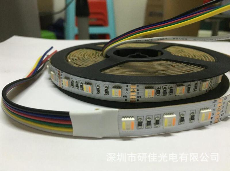 RGB+CCT 五合一五色调色温灯条五色五合一RGB灯带5050RGBWW五合一