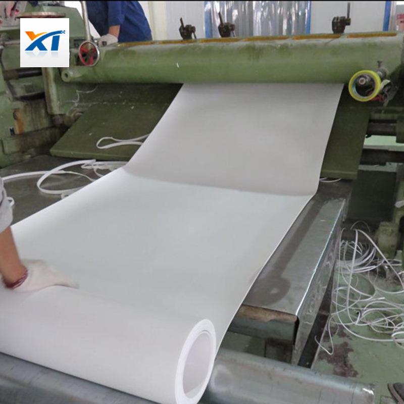 专业生产聚四氯乙烯板 钢结构专用  耐磨四氯楼梯垫板5mm加工定做