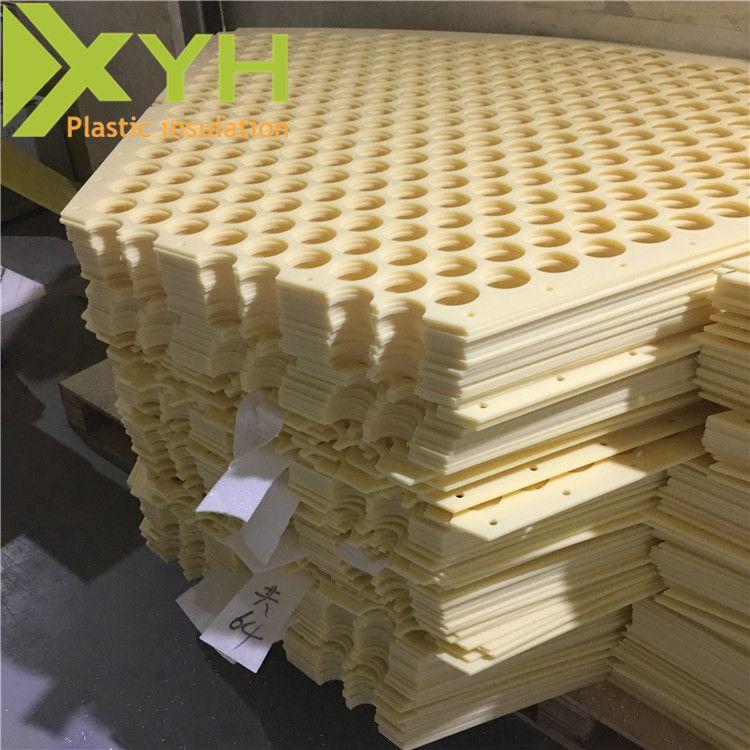 米黄色ABS板加工 丙烯腈abs板 熔点低易加工塑料板