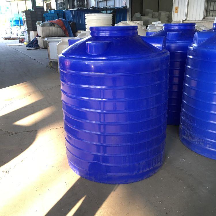 1000l药剂桶pe储存罐消防蓄水桶清洗水箱水塔塑料蓄水箱