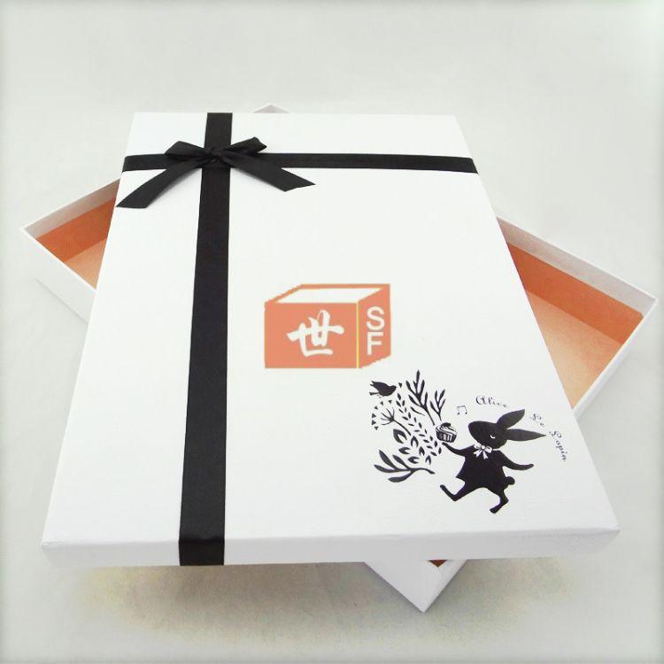 東莞服裝盒廠家 手工天地蓋服裝盒定做 歡迎來樣定制