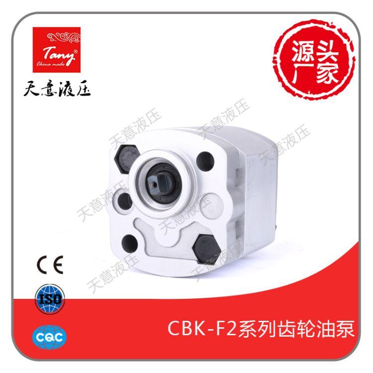 供应高压齿轮油泵CBK-F2026  动力单元专用超强静音设计 厂家直销