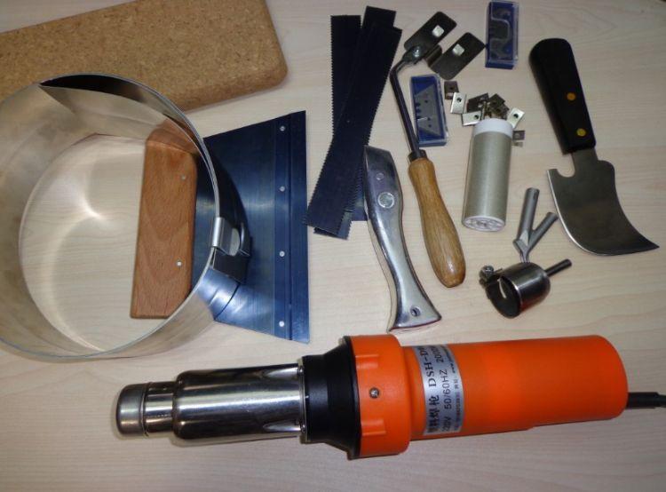塑胶地板焊枪PP PVC运动地板焊枪 塑胶地板工具 2000w地胶焊接机